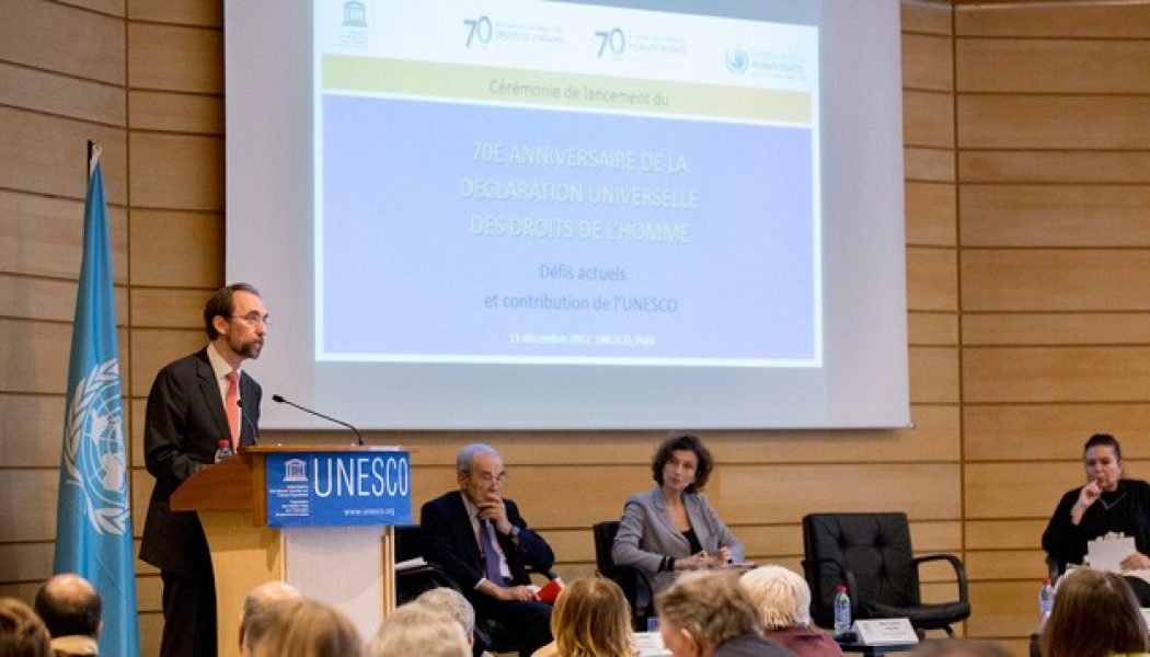 Launch Of Year-long Campaign To Commemorate 70th Anniversary Of The Universal Declaration Of Human Rights