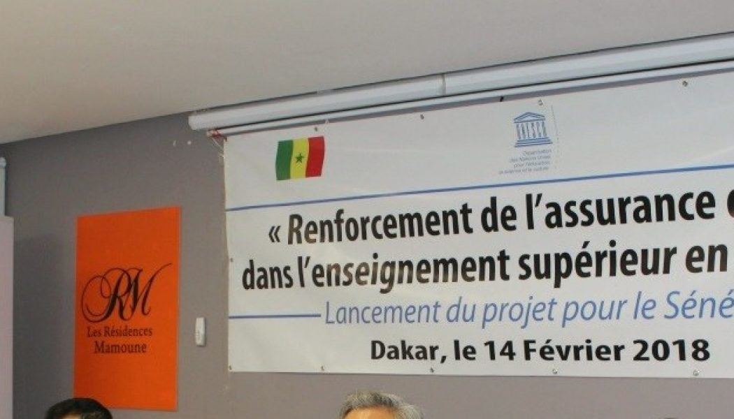 Strengthening Quality Assurance In Higher Education In Senegal (in French)